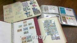 Stamps Treasure Box GB Stamps Albums Covers Victoria Fdc Commem