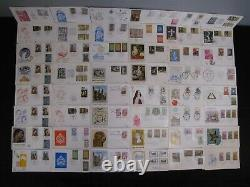 Stunning Vatican Lot Of 500 Fdc Diverse Collection Covers Free Shipping