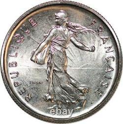 T2843 RARE 5 Francs Essai Semeuse 1970 FDC! UN BIJOU Faire offre