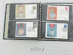 The National Army Museum 60 x First Day Covers Sets 1-5 in Album 1970/72 FDC 252
