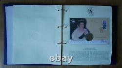 The Queen's Golden Jubilee 2002 Stamp/Coin First Day Cover collection -11 covers