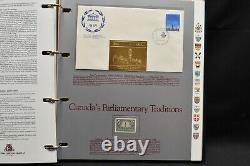The Story Of Canada Excelsior Volumes 1 4 Stamps and First Day Covers