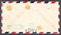 US C15 $2.60 Air Mail on First Day Cover Signed by W. M. Mooney Washington DC PM