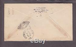 US C19 6c Airmail on Roessler First Day Cover From Washington D. C. VF (-001)