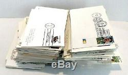 US Postal Service First Day Covers Navy Battleship lot of 370+ 1980's-2000's