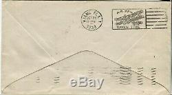 USA #C18 FDC First Day Issue GRAF ZEPPELIN Flight Airmail Cover 1933 New York NY