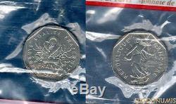 V République 1959 ESSAI 2 Francs 1978 Semeuse SUP FDC