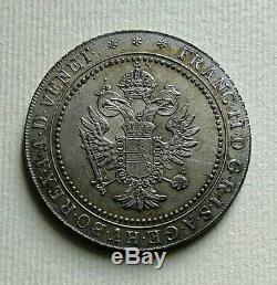Venezia RARA lira e mezza veneta Francesco II d'Asburgo 1802 SPL/FDC