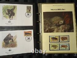 WWF 1983/1999 Sammlung in 19 Alben mit ca. 250 Kapiteln, Max, FDC komplett