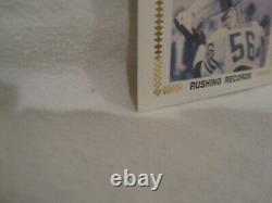 Walter Payton HOF Autographed 3.5 x 6.5 FDC Cachet Envelope JSA Cert