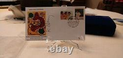 Wfuna Keith Haring Signed Fdc 1088