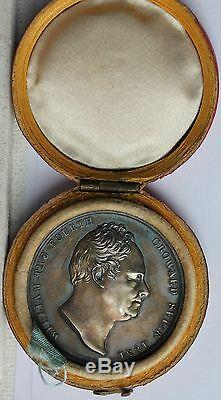 William IV & Adelaide Coronation Medal, Royal Mint in Original Fitted Case. FDC