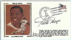 Willie Mays Signed Autographed FDC First Day Cover Cachet 1979 Giants JSA U06542