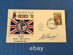 World Cup Mexico 1970 First Day Cover Signed By Alf Ramsey Exc Condition 1966