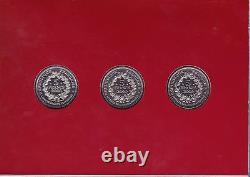 (bu. 20) Coffret Francs 2000 Ans De Monnaies Françaises (3 Pièces)