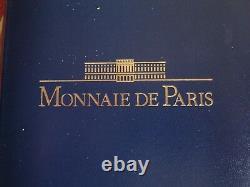 (fdc. 35) Coffret Belle Epreuve 1991 (10 Pieces) Rare